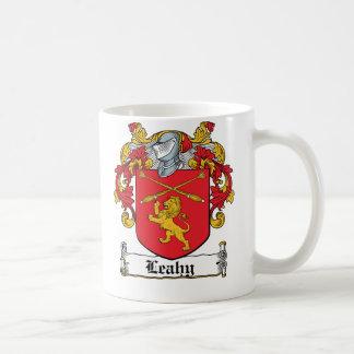 Leahy Family Crest Mug