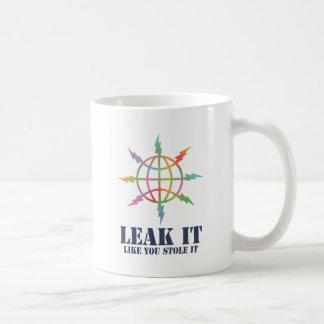 Leak It Like You Stole It Coffee Mugs