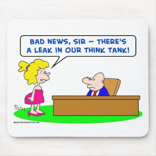 leak think tank mouse pad
