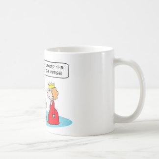 leaked frog incident press king coffee mug