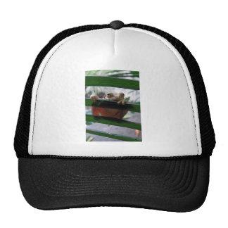leaky bottom trucker hat