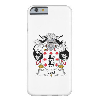 Leal Family Crest Barely There iPhone 6 Case