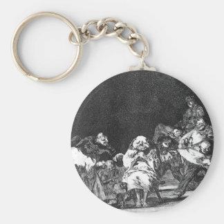 Lealtad de Francisco Goya Llavero Redondo Tipo Pin