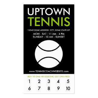 lealtad de la parte alta del tenis tarjetas de visita