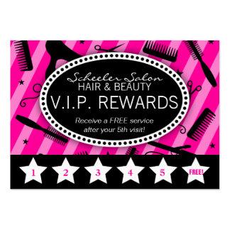 Lealtad del salón de las rosas fuertes y del negro plantilla de tarjeta de visita