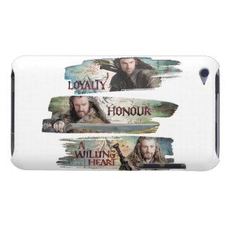 Lealtad, honor, un corazón dispuesto iPod touch protector