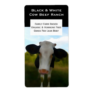 Lean Beef or Veal Farmer Sticker