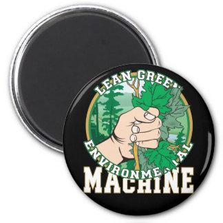 Lean, Green Environmental Machine Magnets