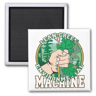 Lean, Green Environmental Machine Magnet