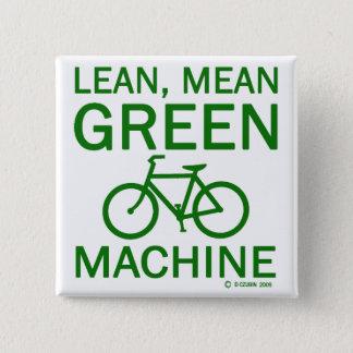 Lean Green Mean Machine Button
