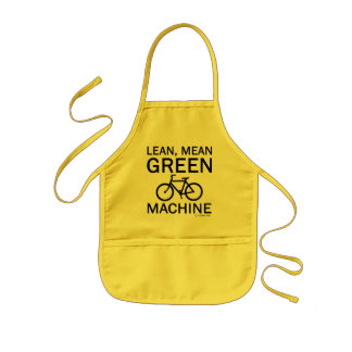 Lean Green Mean Machine Kids' Apron