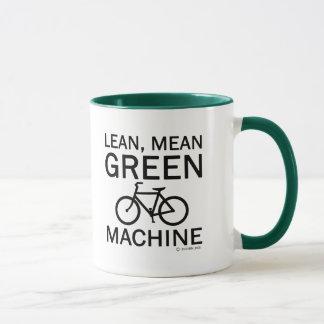 Lean Green Mean Machine Mug