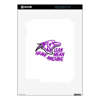 Lean Mean Hawk Machine Skins For The iPad 2