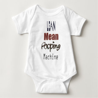 Lean Mean Pooping Machine Baby Bodysuit