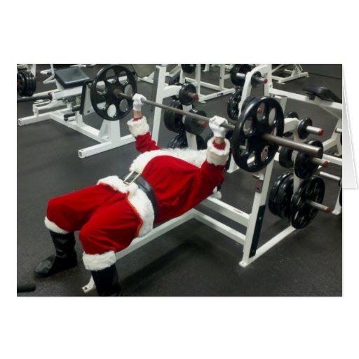 lean & mean Santa -...