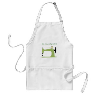 Lean, Mean Sewing Machine! Adult Apron