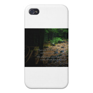 Lean not unto your own understanding cases for iPhone 4