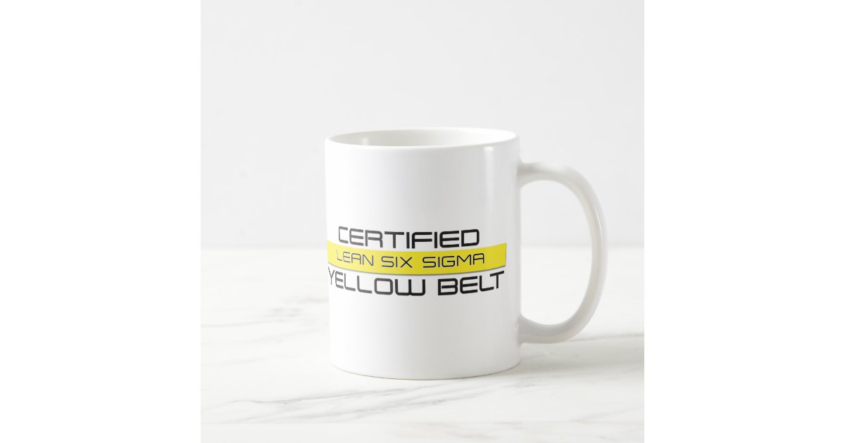 LEAN Six Sigma Yellow Belt Coffee Mug | Zazzle com