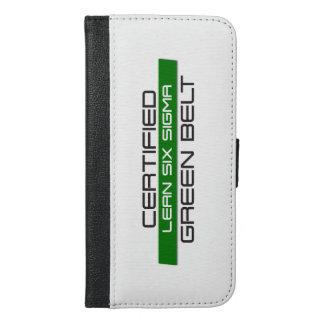 Lean SS Green Belt iPhone 6/6s Plus Wallet Case