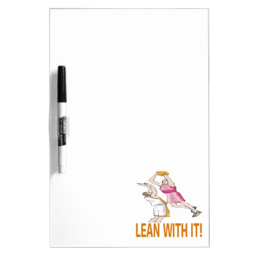 Lean With It Dry-Erase Whiteboards