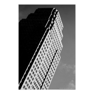 Leaning Building photo print