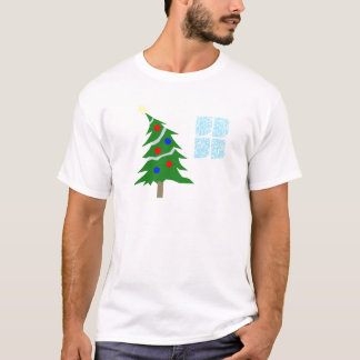 Leaning Christmas Tree T-Shirt