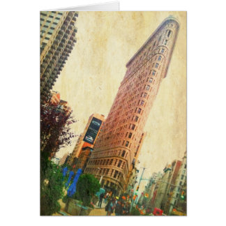 leaning Flatiron Building Cards
