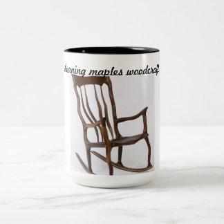 Leaning maples coffee mug