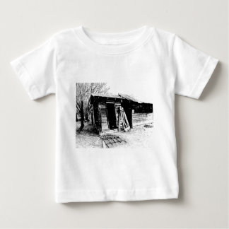 Leaning Outhouse Baby T-Shirt