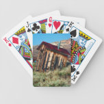 Leaning Outhouse Bicycle Playing Cards