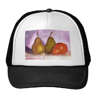 Leaning Pear Hats