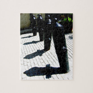 Leaning Shadows Jigsaw Puzzles