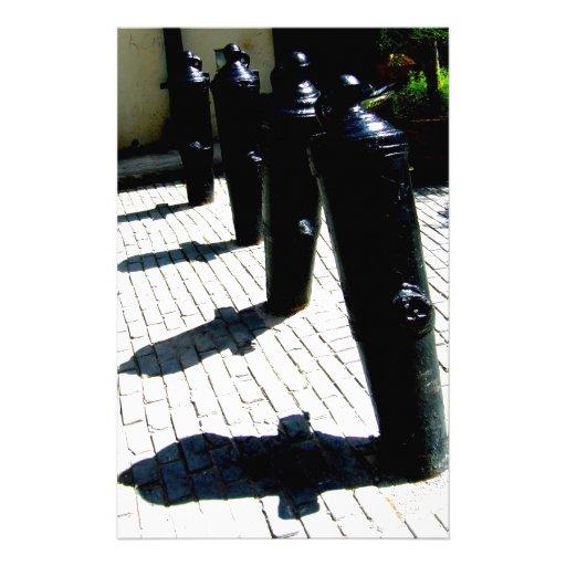 Leaning Shadows Custom Stationery