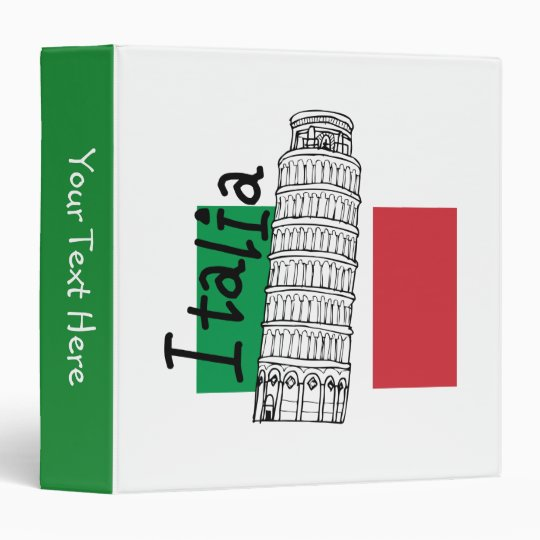Leaning Tower Binder
