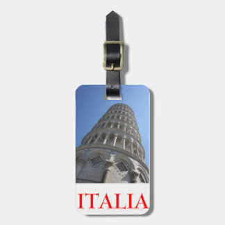 Leaning Tower/Italia Tag Travel Bag Tag