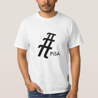 Leaning Tower of Pi T-Shirt