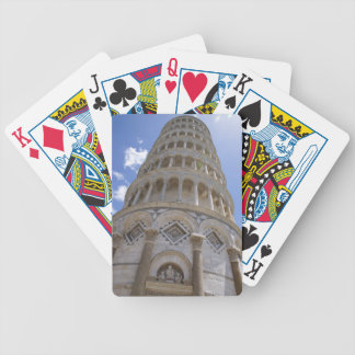 Leaning Tower of Pisa Bicycle Playing Cards