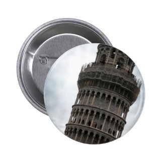 Leaning Tower of Pisa Button