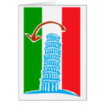 Leaning Tower of Pisa Cards