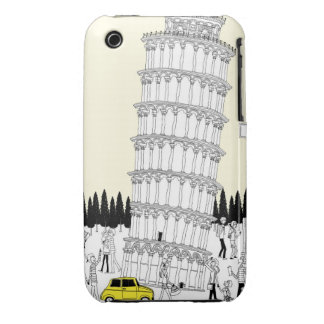 Leaning Tower of Pisa Case-Mate iPhone 3 Case
