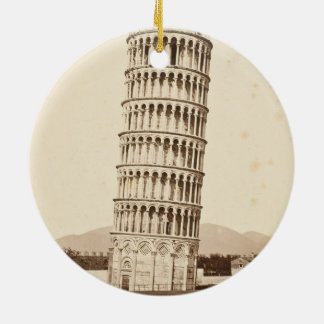 Leaning Tower of Pisa Ceramic Ornament