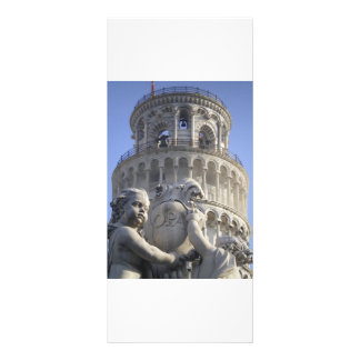 Leaning Tower of Pisa Customized Rack Card