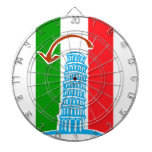 Leaning Tower of Pisa Dartboards