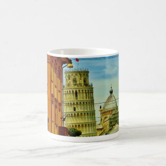 Leaning Tower of Pisa First Glimpse Mug