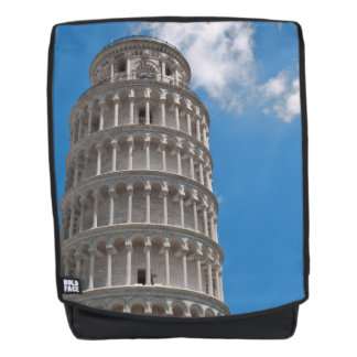 Leaning Tower of Pisa in Italy Backpack