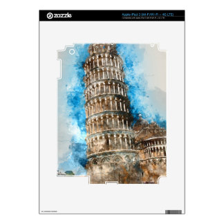 Leaning Tower of Pisa in Italy Decal For iPad 3