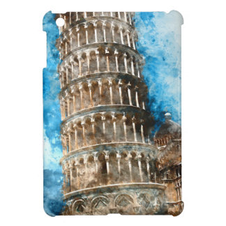 Leaning Tower of Pisa in Italy iPad Mini Covers