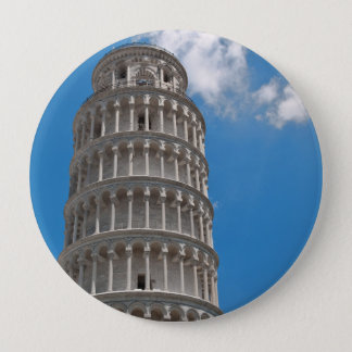 Leaning Tower of Pisa in Italy Pinback Button