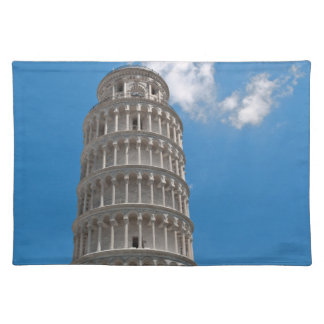 Leaning Tower of Pisa in Italy Placemat