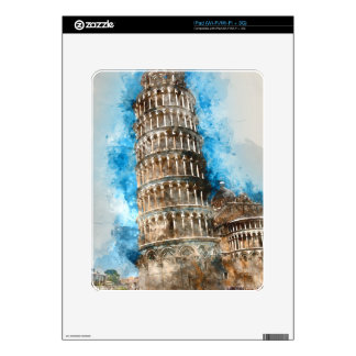 Leaning Tower of Pisa in Italy Skin For iPad